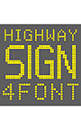 AF―Highway LED sign 4fontセット