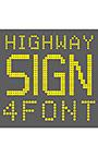 AF―Highway LED sign 4fontセット
