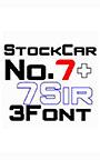 ストックカーみたいな6書体セット Vol.5