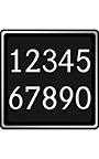 伝票用数字フォント AF―number2DB