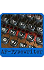 タイプライター風等幅欧文フォント AF―Typewriter