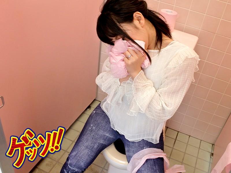 媚薬トイレットペーパーを女子便所に仕掛けたところ、何も知らずにオマ●コ拭いた若妻が、急性発情中毒になったので… サンプル画像  No.6
