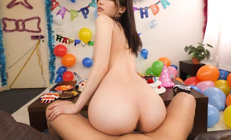 【VR】「あいりが頑張って尽くします!」お誕生日のお祝いにご奉仕セックス!! サンプル画像 No.3