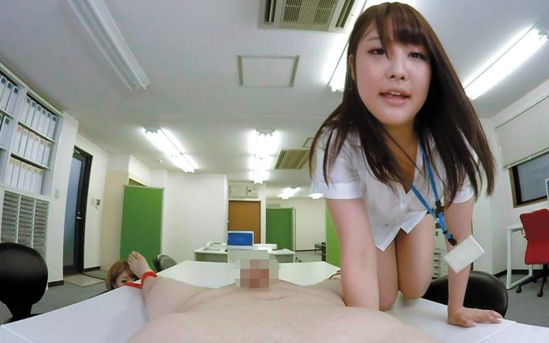 【VR】なかよしOLの休日濡れ濡れオフィス~ののかの騎乗位&まやの淫語責め サンプル画像  No.4