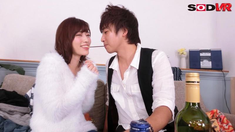 【VR】ほろ酔いでキス魔に変貌した親友の彼女がず~っとキスを求めてきた!寝ている彼氏の目の前でこっそりセックス! 市川まさみ サンプル画像 No.3
