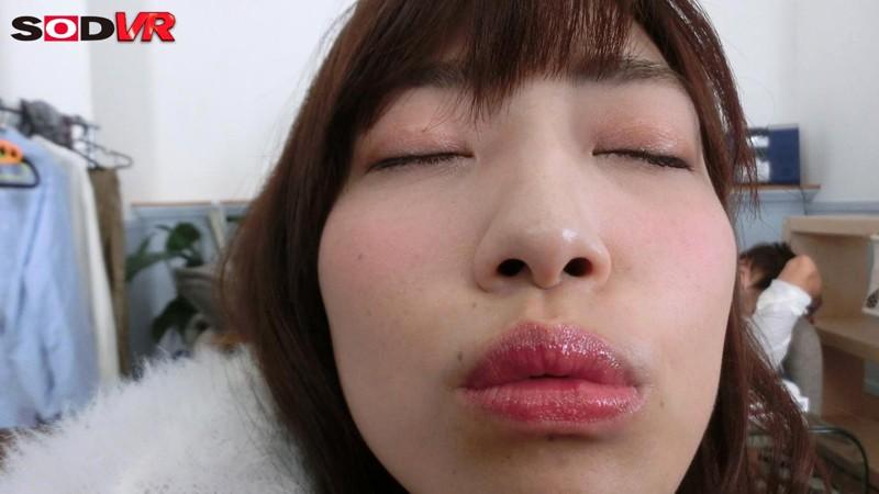【VR】ほろ酔いでキス魔に変貌した親友の彼女がず~っとキスを求めてきた!寝ている彼氏の目の前でこっそりセックス! 市川まさみ サンプル画像 No.5