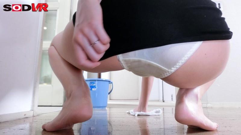 【VR】VR長尺 義母ほのか 華奢なカラダにGカップ巨乳、ミニスカートで家事をしている義母さんがエロすぎて性的な目で見てしまう… サンプル画像 No.7