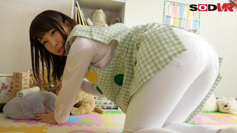 【VR】【おねシ●タVR】優しくて巨乳の先生に甘えていたら、勃起がバレて筆下ろしされてしまった! サンプル画像  No.7
