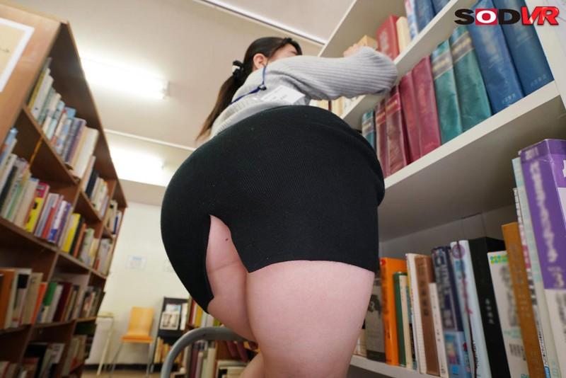 【VR】春休みに図書館でひとりぼっちでいたら司書のムッチリしたおっぱいの大きいお姉さんに声をかけられ救護室でこっそりエッチなイタズラをされた あまねめぐり サンプル画像  No.3