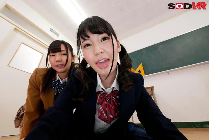 【VR】唾飲みVR3 ハーレム唾たらしSP サンプル画像  No.6