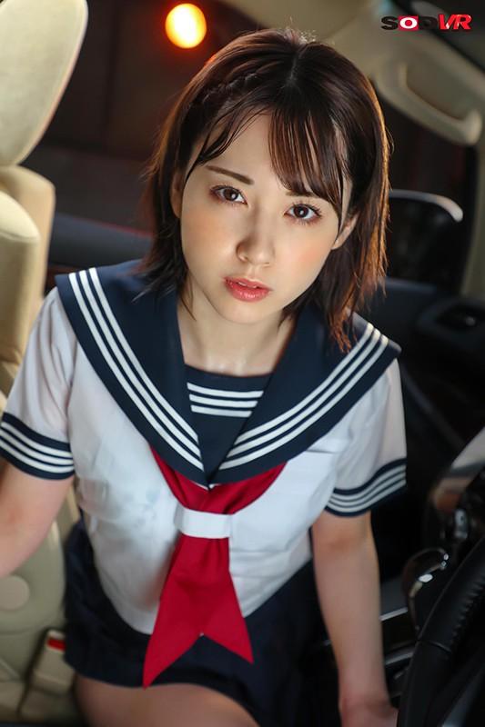 【VR】じとぺた女子。―教え子と車内で濃厚生ハメ― 堀北わん