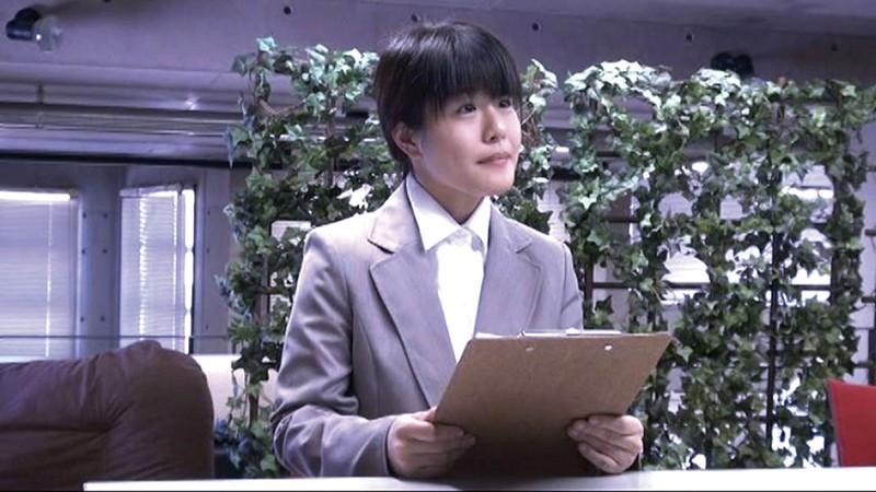 新人女性社員が面接官004 サンプル画像  No.1