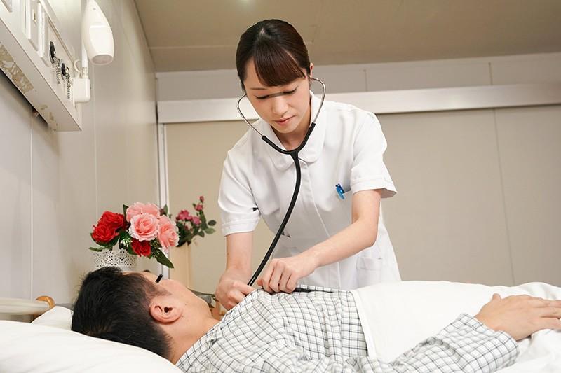「欲求不満の看護師さんに耳元でこっそり淫語を囁かれ勃起したらヤられた」VOL.1 サンプル画像  No.8