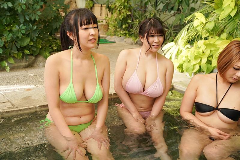 「町内会の巨乳ママ友たちがスパリゾートで小さな水着を着たら思わずポロリ!勃起を見せたら興奮してヤらせてくれた」VOL.1 サンプル画像  No.7