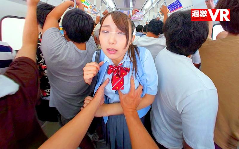 【VR】乳首いじり痴漢 VR ~コリコリ刺激され続け発情する敏感女~ サンプル画像  No.4