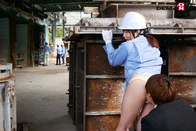 男まさりの工業系女子 西條いつき SEXの味が忘れられず、仕事中に作業着姿でAV再出演 サンプル画像  No.5