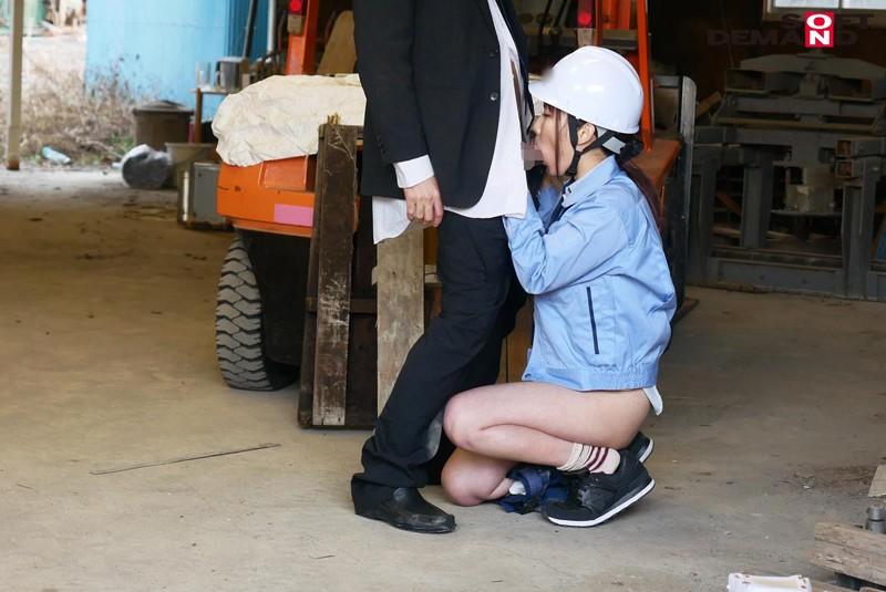 男まさりの工業系女子 西條いつき SEXの味が忘れられず、仕事中に作業着姿でAV再出演 サンプル画像  No.7