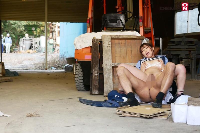 男まさりの工業系女子 西條いつき SEXの味が忘れられず、仕事中に作業着姿でAV再出演 サンプル画像  No.8
