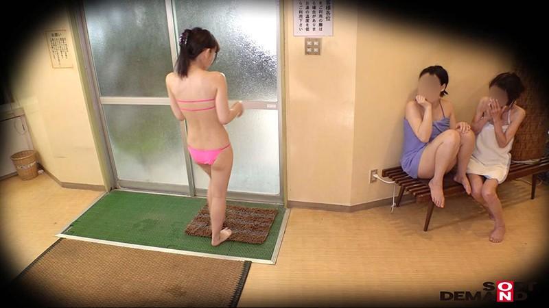 房総半島の温泉リゾート地で見つけた未成年美少女限定 裸よりも恥ずかしいハレンチ水着で混浴入ってみませんか? 全員10代&Eカップ以上!人気企画復活SP 13枚目