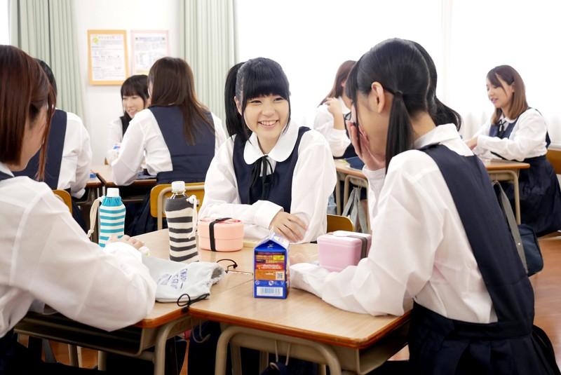 突然、どろっどろ精子が降り注がれる日常 学園生活で「常にぶっかけ」女子○生 サンプル画像 No.2