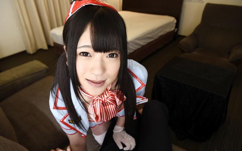 【VR】接吻しまくり淫口よだれアイドル 南梨央奈 サンプル画像  No.2