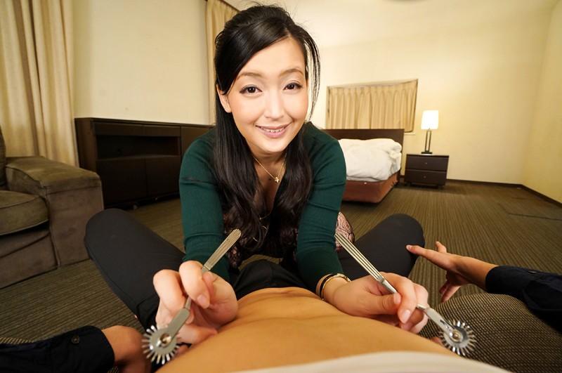 【VR】デキる熟女は、乳首を責める。ver.VR 並木塔子 サンプル画像  No.2