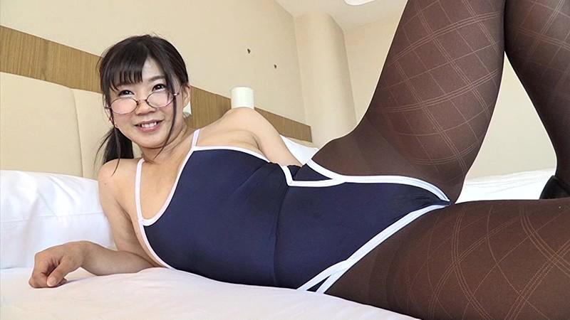 眼鏡×競泳水着×くびれボイン 美保結衣 サンプル画像 No.7
