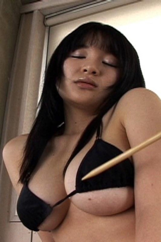 【姫川麗】黒ビキニでセクシーダンスGOGOバーみたい