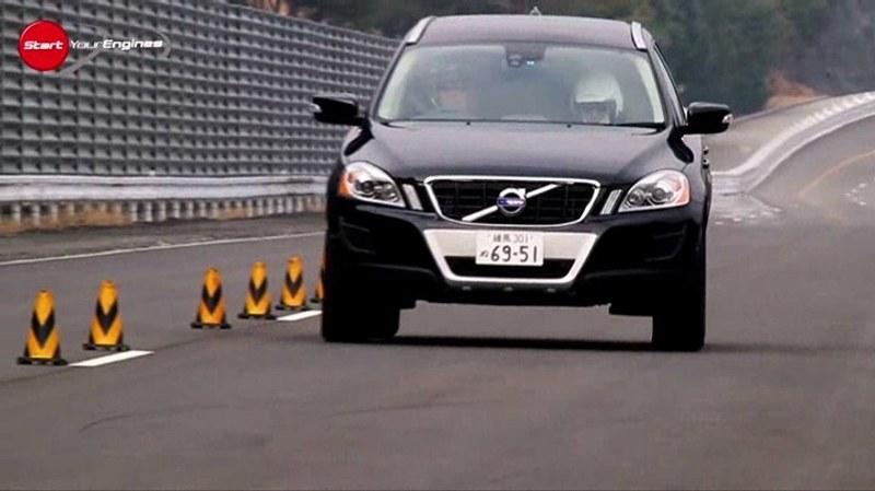 日産エクストレイル20GT対ボルボXC60 T6 ダイナミック・セイフティ・テスト【シーズン2】