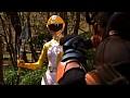 グラドル戦隊 退魔巫女戦騎トリプルランサー 黄色い恐怖! 破壊されたランサースーツ