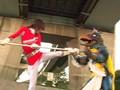 グラドル戦隊!! 退魔巫女戦騎 トリプルランサーF(後編)