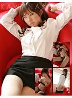 セクシーOL嬢コスで誘惑 川奈栞