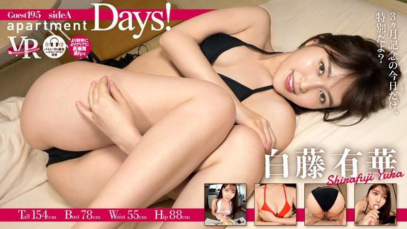 【VR】apartment Days! Guest 195 白藤有華 sideA