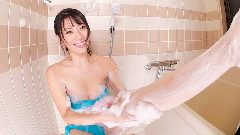 【VR】5400px×2700px 超高解像度HQ 刺激的なふたり暮らし。ふみ奈はお風呂でもベッドでも僕の前では全部むき出し、そんな世界。 鈴木ふみ奈