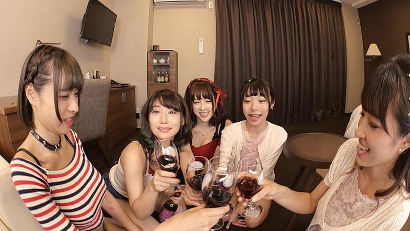 【VR】モテ期の晩餐 うにゃる/ゆかにゅん/かみてゃん/神崎りのあ/茶々