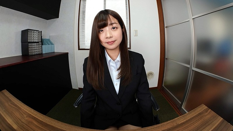 【VR】バーチャルダイブ 面接官のボクが知れば知るほど気になる就活生のキミ 柚月彩那