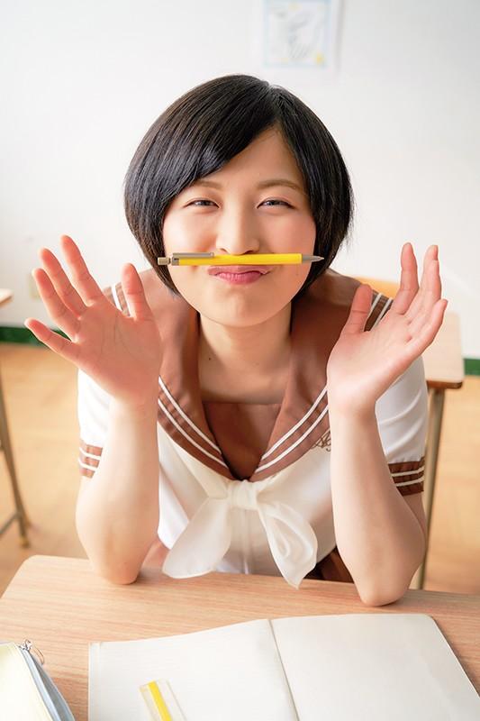 戸塚こはる 「工業高校出身の彼女がけしからんカラダをしていたのでグラビアデビューしてもらいました!」 サンプル画像 5