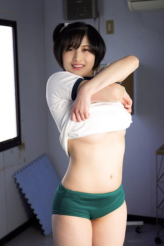 戸塚こはる 「工業高校出身の彼女がけしからんカラダをしていたのでグラビアデビューしてもらいました!」 サンプル画像 9