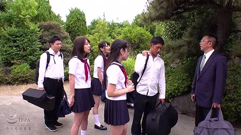 女子●生吹奏楽部夏合宿中出し性交 サンプル画像 No.1