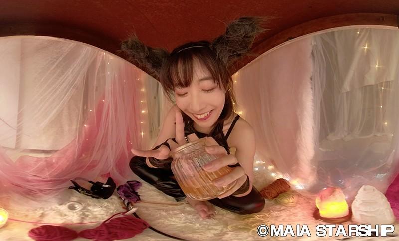 【VR】EXHI'BIJO'N-エキシ美女ン- 麻衣阿〈魍魎彼女〉