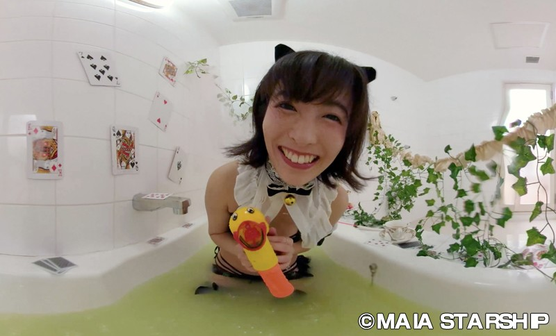 【VR】EXHI'BIJO'N-エキシ美女ン- 麻衣阿〈水棲彼女〉