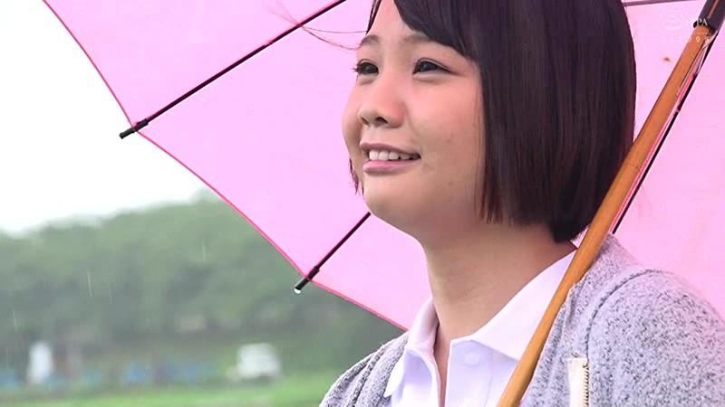 雨の日大好きはしゃいじゃう♪ Gカップ純朴娘に中出し!! つばさちゃんGカップ サンプル画像  No.1