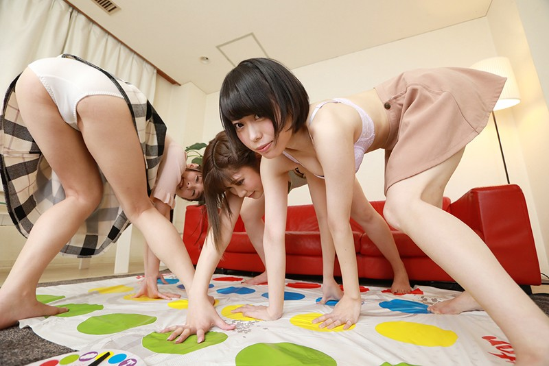【VR】ピザ屋の出前とツ●スターゲームとラッキーSEXと 石川祐奈・川菜美鈴・あおいれな サンプル画像  No.3