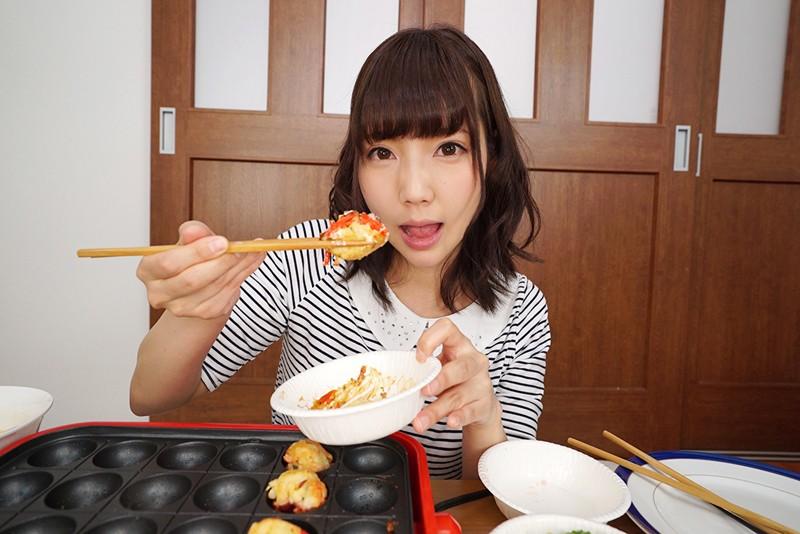 【VR】タコパしよっ!!愛情たっぷり、タコ焼きを食べてラブラブSEX あけみみう サンプル画像 No.2