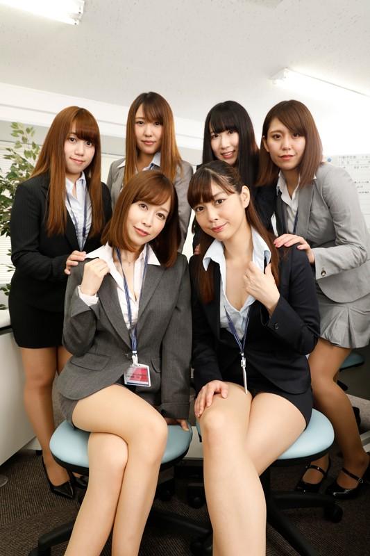 【VR】全裸オフィス 裸の女子社員に囲まれて… サンプル画像 No.2