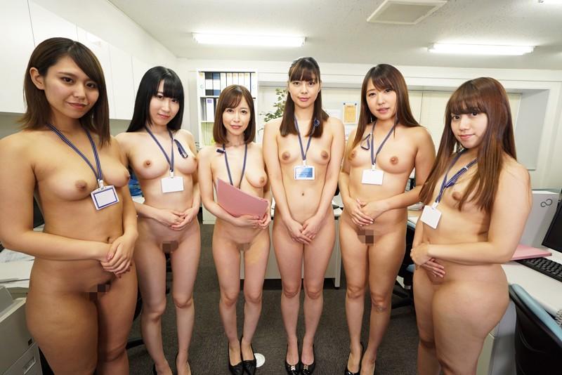【VR】全裸オフィス 裸の女子社員に囲まれて… サンプル画像 No.4