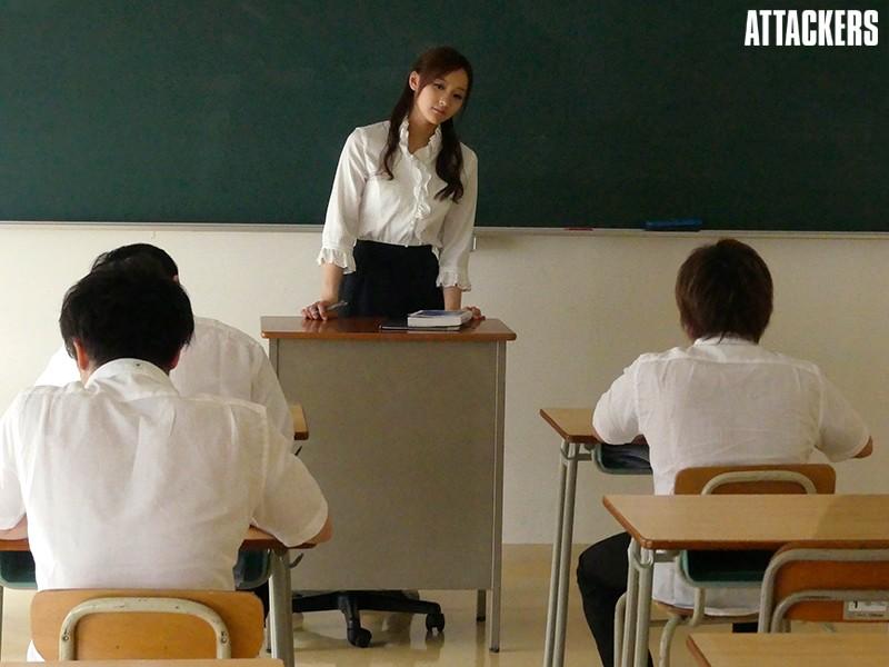 女教師 姦禁教室 柚月ひまわり サンプル画像  No.8