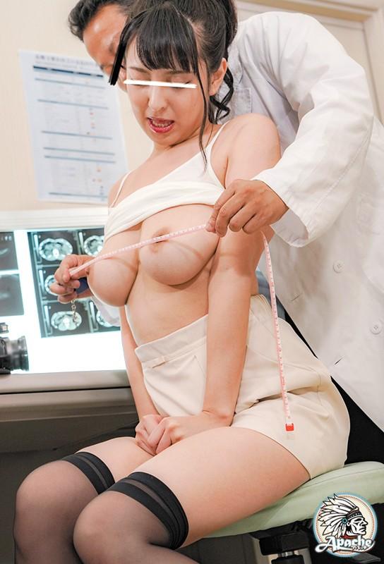 巨乳若妻 健康診断乳首こねくり回し中出し痴漢 サンプル画像 No.8