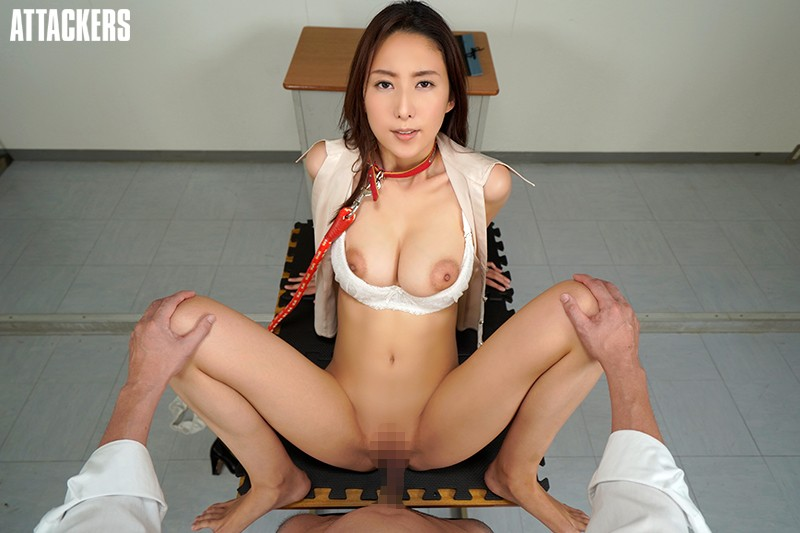 【VR】誰もが憧れる紗栄子先生は僕のいいなり性奴隷。 サンプル画像  No.5