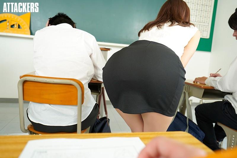 【VR】誰もが憧れる紗栄子先生は僕のいいなり性奴隷。 サンプル画像  No.8